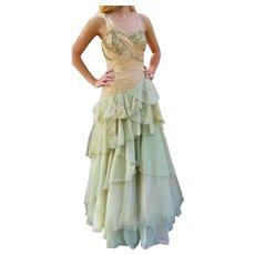 NWT Vintage DIANE FREIS 1980s does 1950s Dress