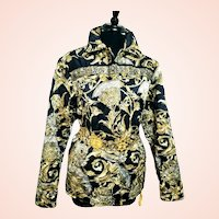 DIANE FREIS' Own Vintage piece:  1980s Baroque Silk Quilted Jacket/Coat