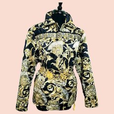 DIANE FREIS' Own Vintage piece:  1980s Baroque Silk Quilted Jacket/Coat