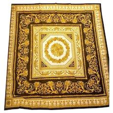 """*VINTAGE HOLIDAY Gift!*  New/Unused  $595 DIANE FREIS Baroque Gauze Scarf/Wrap/Pashmina  52"""""""