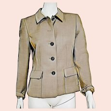 CLASSIC Structured Vintage $900+ AKRIS Blazer Jacket