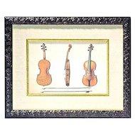 Vintage Violins Print