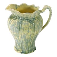 Ceramic Mottled Glaze Pitcher
