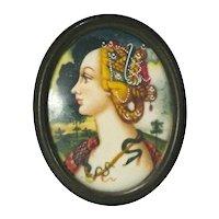 Portrait Of A Renaissance Woman