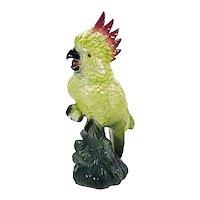 Ceramic Cockatoo Figurine