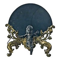 Antique Cherub Vanity Mirror