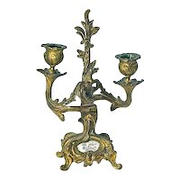 Antique Louis XV Style Candleholder