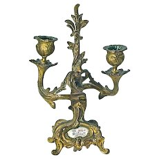 Antique Louis XV Style Candleholder