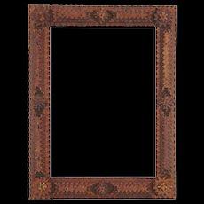 Spanish Tramp Art Pine Frame