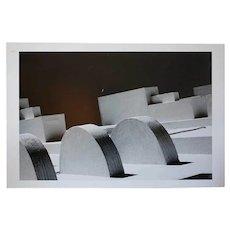 JORGE BAGNUOLI Black and White Photograph, Escuela Normal Rural Detalle 4