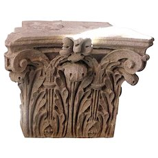 American Stone Corinthian Pilaster Capital