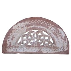 Indian Sandstone Arched Window Transom (Jali)