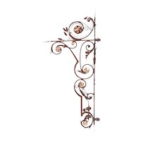 Large Argentine Wrought Iron Building Bracket