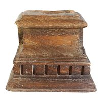 Indian Teak Architectural Pilaster Capital