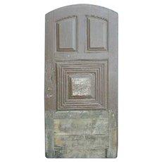 Portuguese Pine Arched Single Door