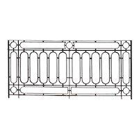 French Wrought Iron Balcony Railing