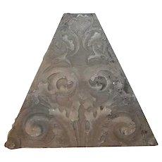 American Victorian Limestone Architectural Keystone
