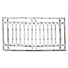French Wrought Iron Balcony Railing