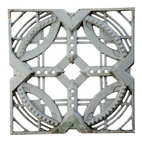 American John deKoven Hill Blue Painted Aluminum Modular Panel
