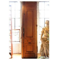 Grand Italian Style Renaissance Revival Carved Mahogany Double Door