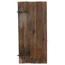 Swedish Allmoge Pine Plank Single Door