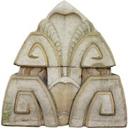 American Art Deco Terracotta Architectural Acroterion