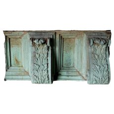 American Neoclassical Copper Architectural Frieze