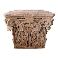 American Stone Corinthian Building Pilaster Capital