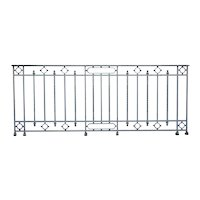 French Painted Wrought Iron Balcony