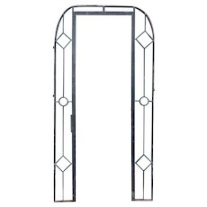 French Beaux-Arts Wrought Iron Doorway Surround