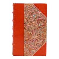 Leather Book: Essays of Hazlitt 1778 to 1830 by William Hazlitt