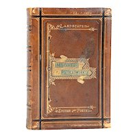 Leather Book: The Poetical Works of Thomas Moore