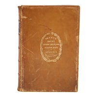 Leather Book: History of the Conquest of Peru by William H. Prescott