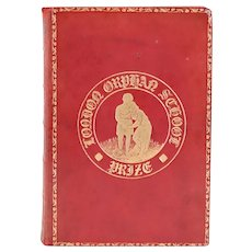 Leather Book: The Poetical Works of William Blake by John Sampson