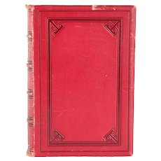 Leather Bound Book: The Poetical Works of Mrs. Hemans by Felicia Hemans