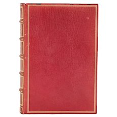 First Edition Leather Book: The American Claimant by Mark Twain