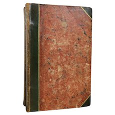 Set of Two Books: Poems by Robert Burns,  With An Account of His Life