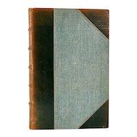 Leather Book: The Plays of Richard Brinsley Sheridan by Richard Sheridan