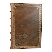 German Leather Book: Goethe, From my Life, Poetry and Truth by Goethe