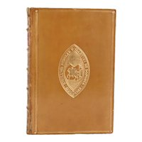 Leather Book: Lays of Ancient Rome with Ivry and the Armada by Lord Macaulay