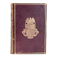 Leather Book: The Political Works of Samuel Taylor Coleridge by James Dykes Campbell