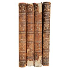 Set of Four Books: The Lives of the Most Eminent English Poets by Samuel Johnson