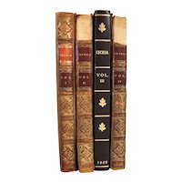 Set of Four Books: Cecelia or Memoirs of an Heiress by Frances (Fanny) Burney