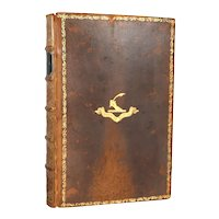 Leather Bickers & Son Book: The Poetical Works of Thomas Gray by John Bradshaw
