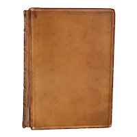 Leather Book: Sir Roger de Coverley by the Spectator by Joseph Addison et al.