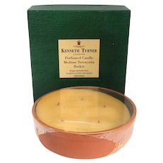 English Kenneth Turner Perfumed Medium Terracotta Five-Wick Candle