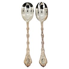 French Odiot Demidoff .950 Sterling Silver Two-Piece Salad Servers [2 sets available]