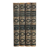 Set of Four Books: Memoirs of the Life and Family of ... Laurence Sterne