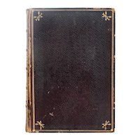 Leather Book: The Poetical Works of James Russell Lowell