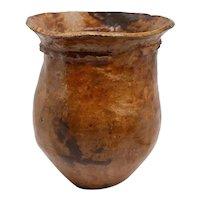 Small Native American Pottery Vessel